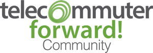 Telecommuter Forward Logo